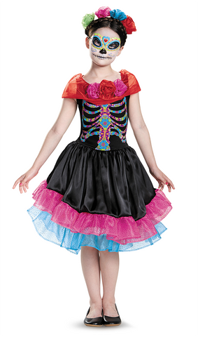 Day of the Dead-Child Costume - ExperienceCostumes.com