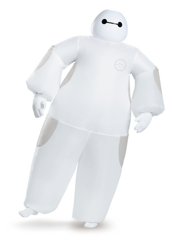 White Baymax Inflatable Adult