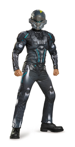 Halo Spartan Locke Muscle Classic-Child Costume - ExperienceCostumes.com
