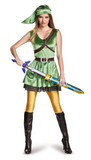 Legend of Zelda Link Female-Adult Costume - ExperienceCostumes.com