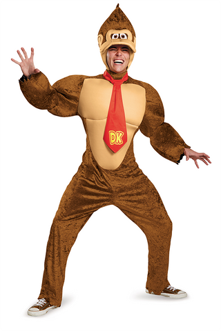 Super Mario Brothers Donkey Kong-Adult Costume - ExperienceCostumes.com