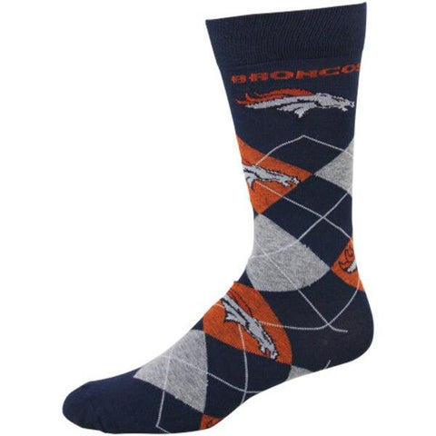 Denver Broncos Argyle Socks