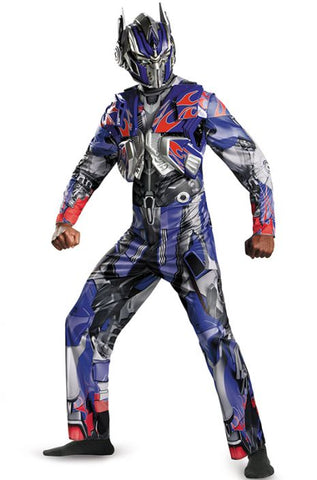 Transformers Optimus Prime Deluxe-Adult Plus Costume