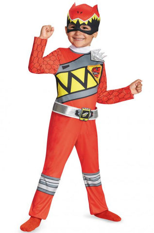 Power Ranger Red Ranger Dino Charge-Child Costume - ExperienceCostumes.com