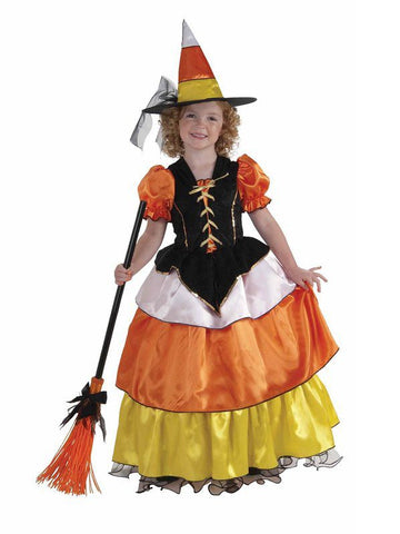 Candy Corn Princess-Child Costume