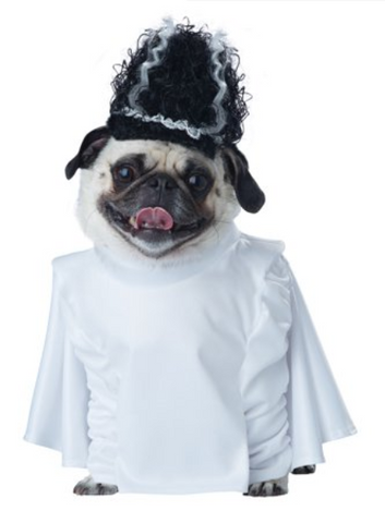 Pet Costume-Bride of Frankenpup