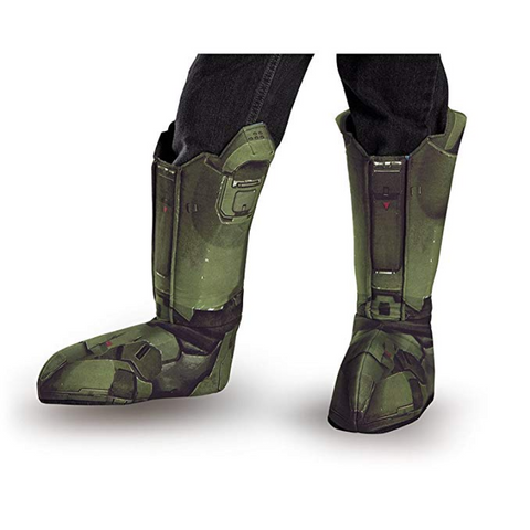 Halo Master Chief Boot Covers-Adult Costume Accessory