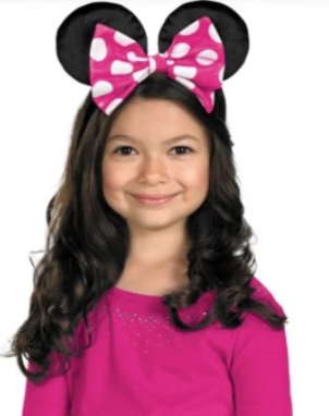 Minnie Mouse Ears-Child Costume Accessory