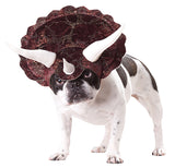 Pet Costume-Triceratops