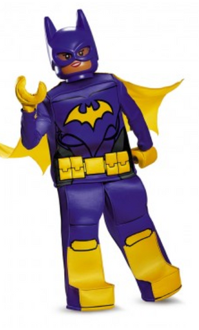 Lego Batgirl-Child Costume