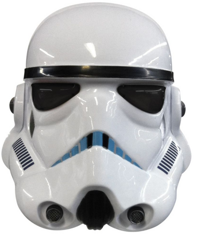 Stormtrooper Deluxe Two Piece Helmet Mask-Adult Accessory