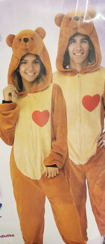Onesie Teddy Bear-Adult