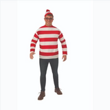 Where's Waldo-Adult Costume