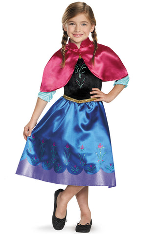 Frozen Anna Traveling Classic-Child Costume - ExperienceCostumes.com
