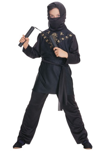 Black Ninja-Child Costume