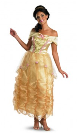 Beauty and the Beast Belle Deluxe Costume-Adult Costume
