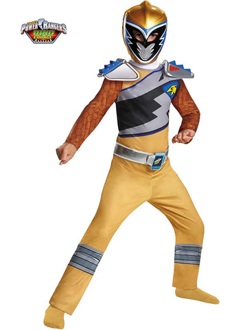 Gold Power Ranger Dino Charge Classic-Child Costume - ExperienceCostumes.com