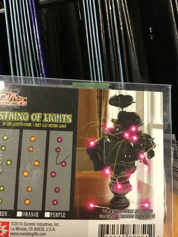 String of Lights - Orange or Red