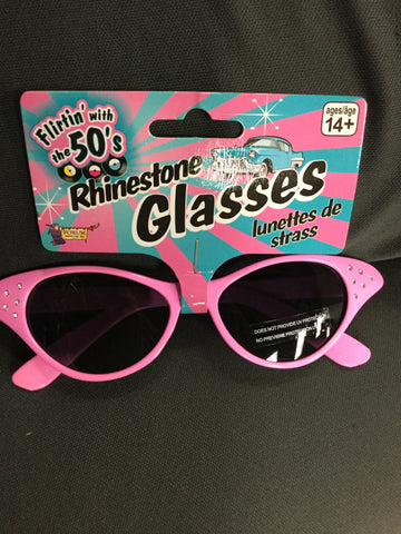 1950's Rhinestone Glasses