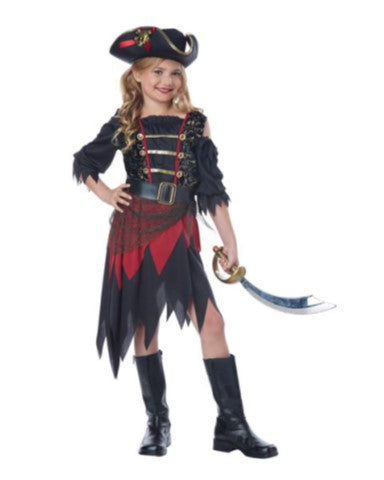 Sassy Pirate-Child Costume