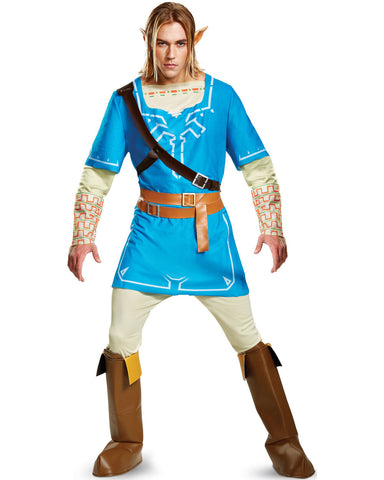 Legend of Zelda Breath Of The Wild Link Deluxe-Adult Costume