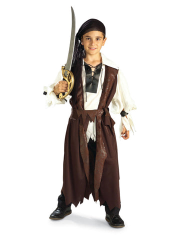 Caribbean Pirate Costume-Child