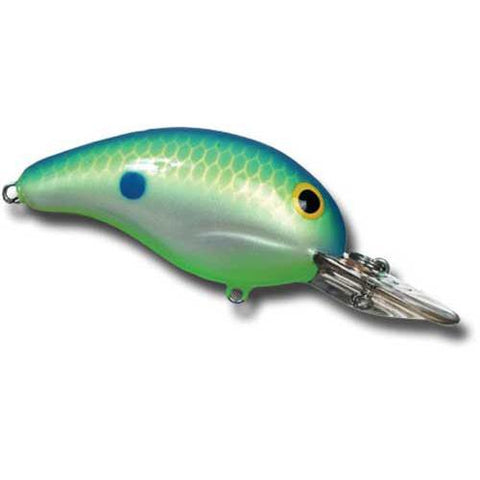 Bandit Lure 2-5' 2' 1-4oz Chartreuse Shad-Chart Bellly DWO