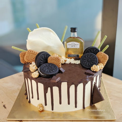 Mini Bottle Drip Cake
