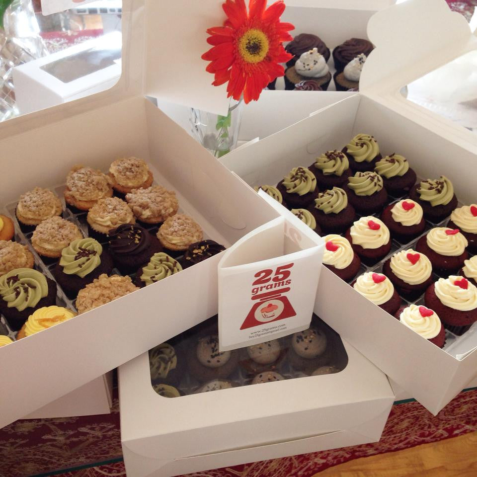 6pc Assorted Cupcakes