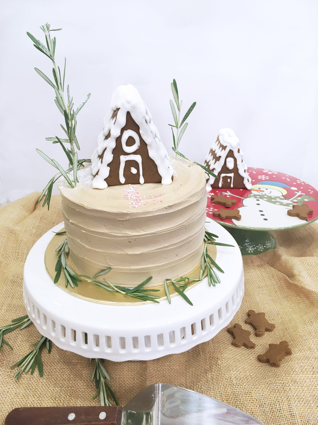 Brown Butter Spice Christmas Cake
