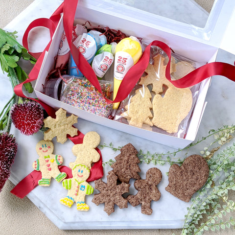 Christmas Cookie Decorating Kit *Vegan/ GF+V option available*