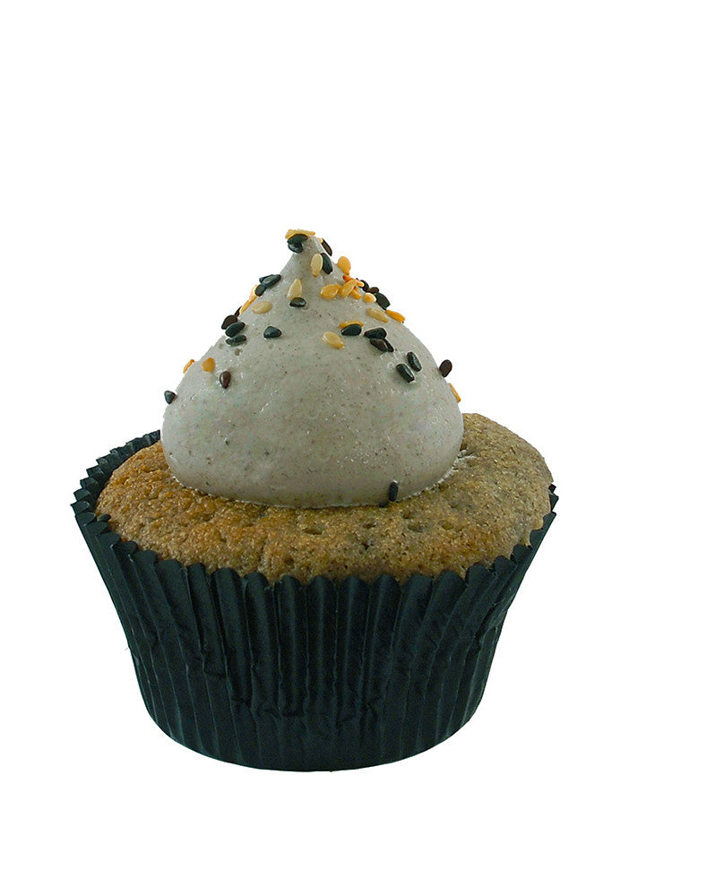 Mini Black Sesame Cupcake