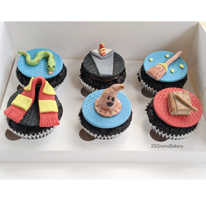 Harry Potter Cupcakes (Box of 12)