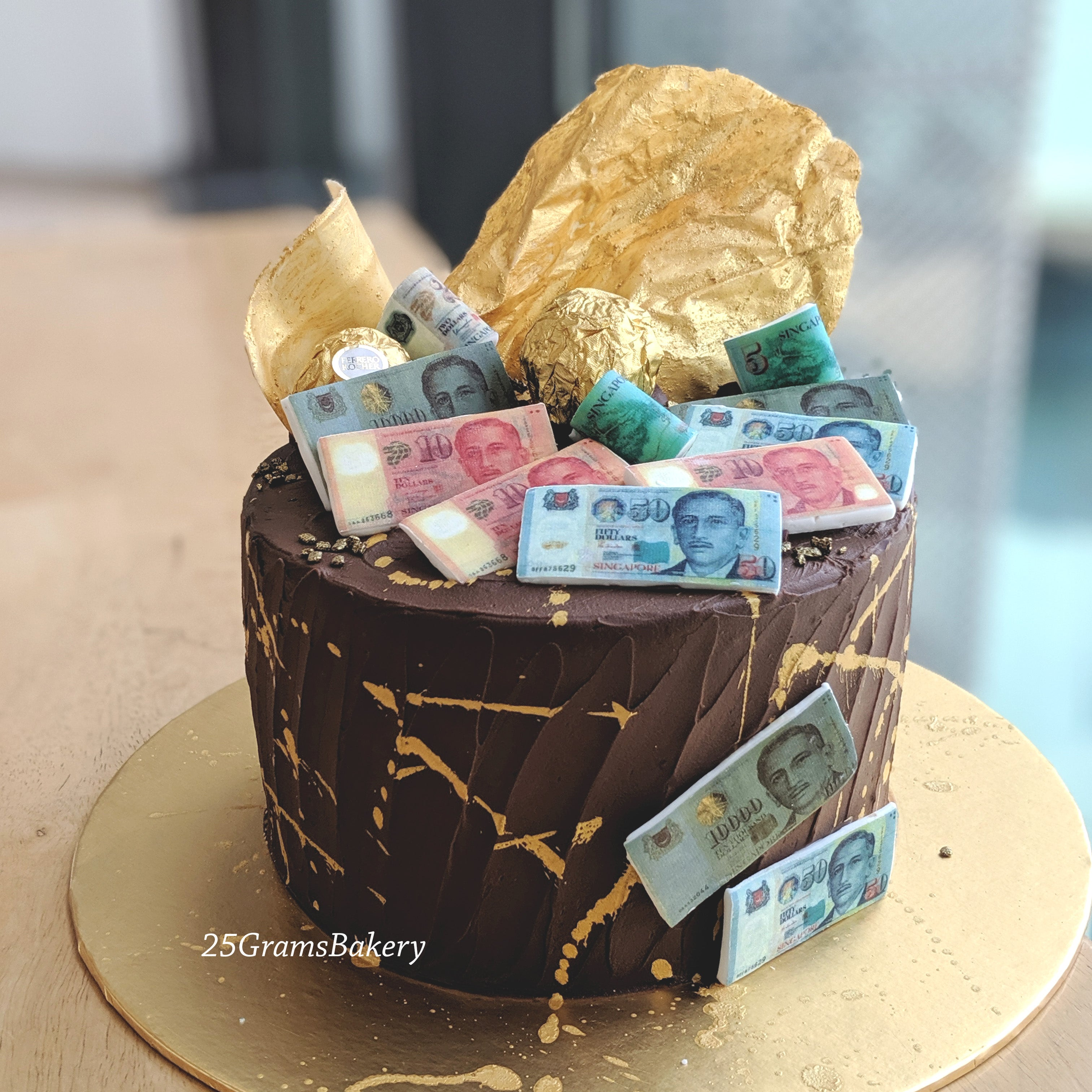 Fortune Money Cake