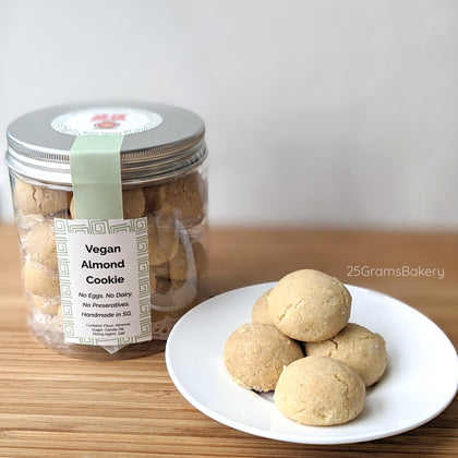 Vegan Almond Cookies * Popular! *