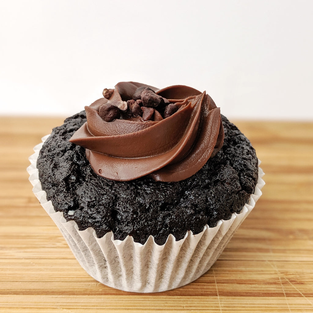 Vegan Chocolate Mudcake Cupcake