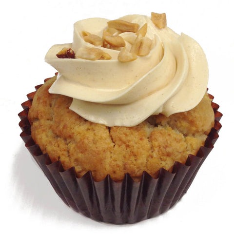 Vegan Banana Peanut Butter Cupcake * soy option available*