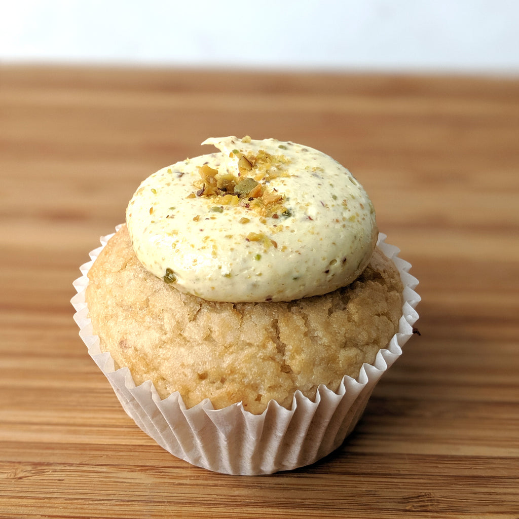 Vegan Turkish Delight Cupcake *NUTS*