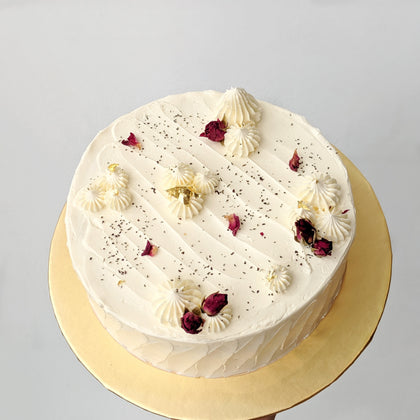 Earl Grey & Vanilla Vegan Cake *Popular*