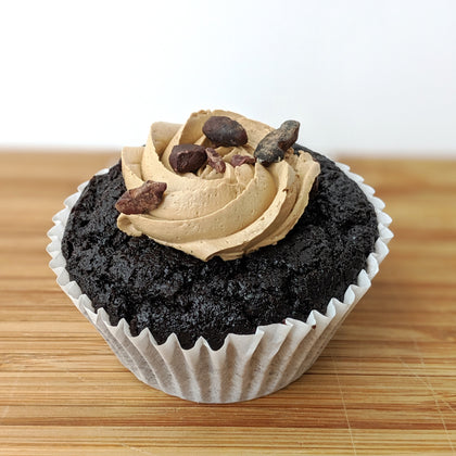 Vegan Mocha Cupcake *soy option available*