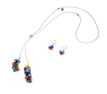 BLISS - Handmade Murano Glass Two Piece Jewelry Multicolor Set