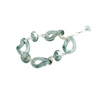 EDINA - Sterling Silver Murano Glass Two Piece Jewelry Set - Bracelet