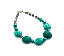 RIVIERA - Murano Glass Bracelet in Green