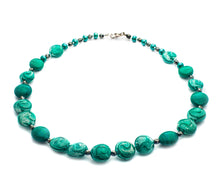 RIVIERA - Murano Glass Necklace in Green