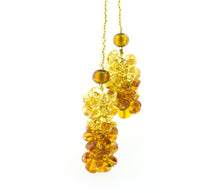 BLISS - Handmade Murano Glass Two Piece Jewelry Gold