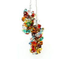 BLISS - Handmade Murano Glass Two Piece Jewelry Multicolor
