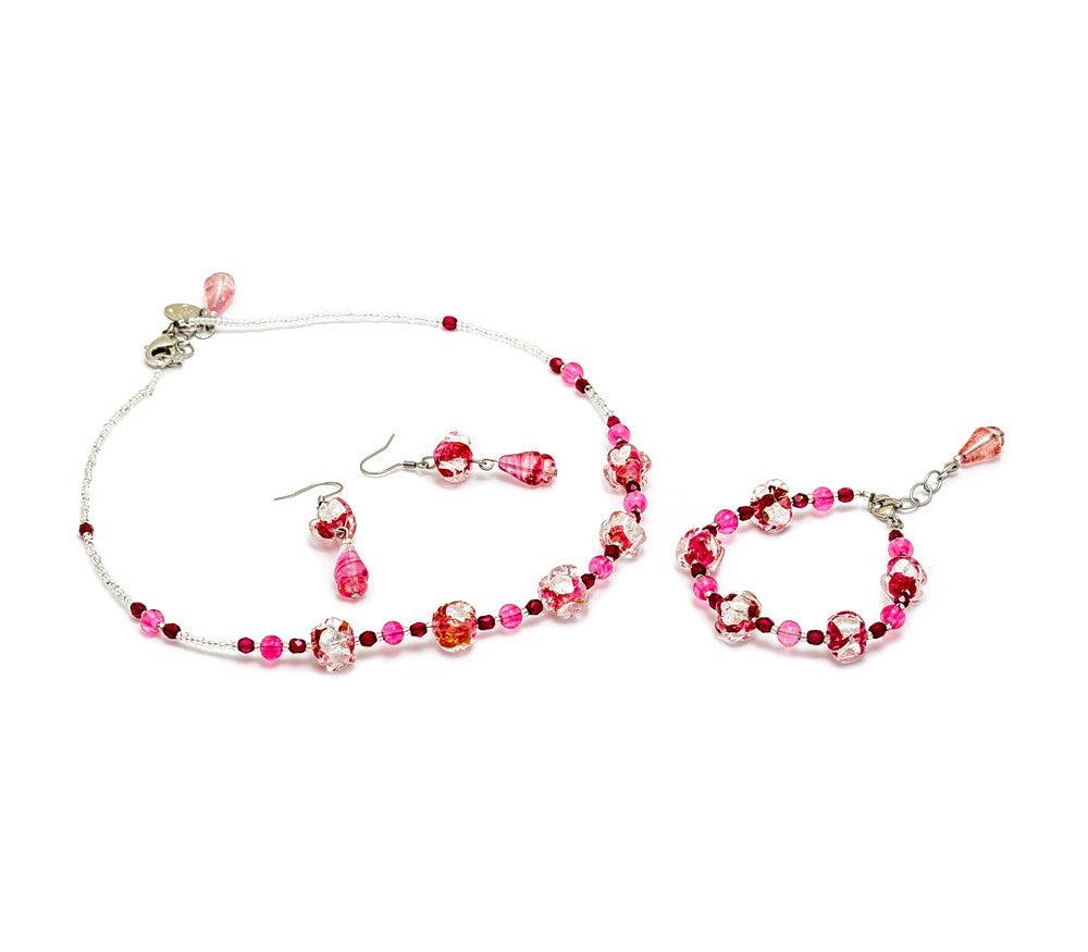 ROLANDA - Murano Glass Jewelry Set