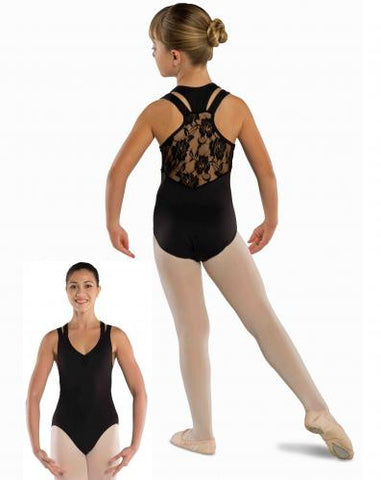 Z- Danshuz Lace Racer Back Leotard