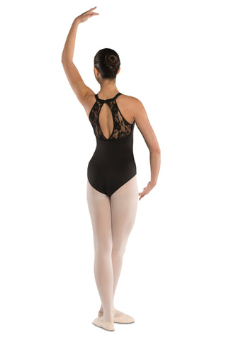 z - Oval Lace Back Leotard