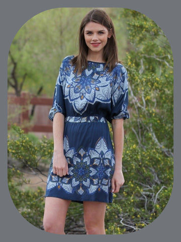 Boho 3/4 Dleeve Dress